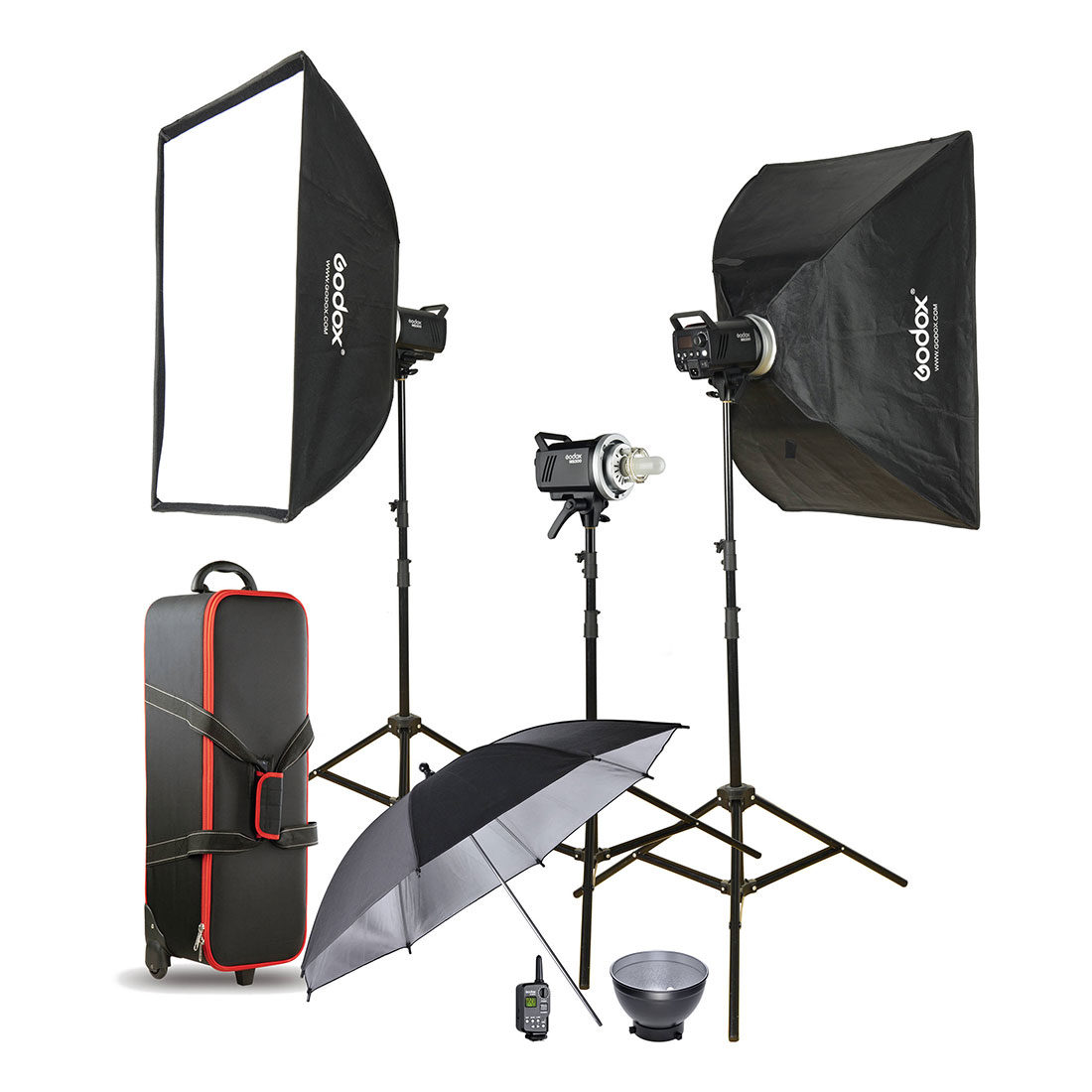Godox MS300-D 3-Monolight Kit