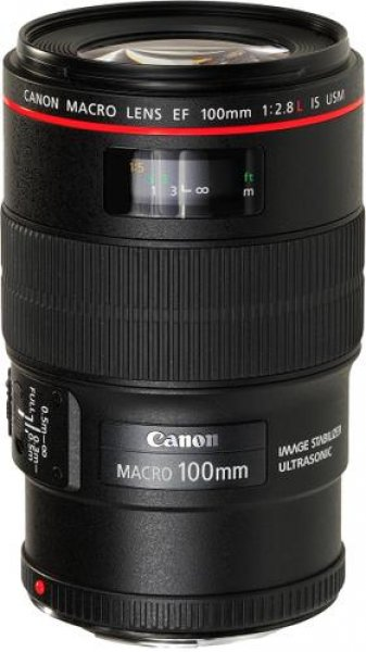 CANON OBJECTIVA EF 100 MM F/2,8L MACRO IS USM