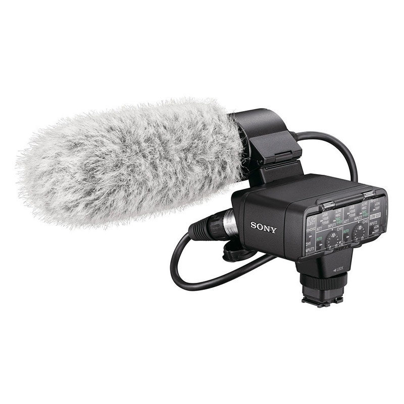 Sony XLR-K2M Adapter Set and Shotgun Microphone