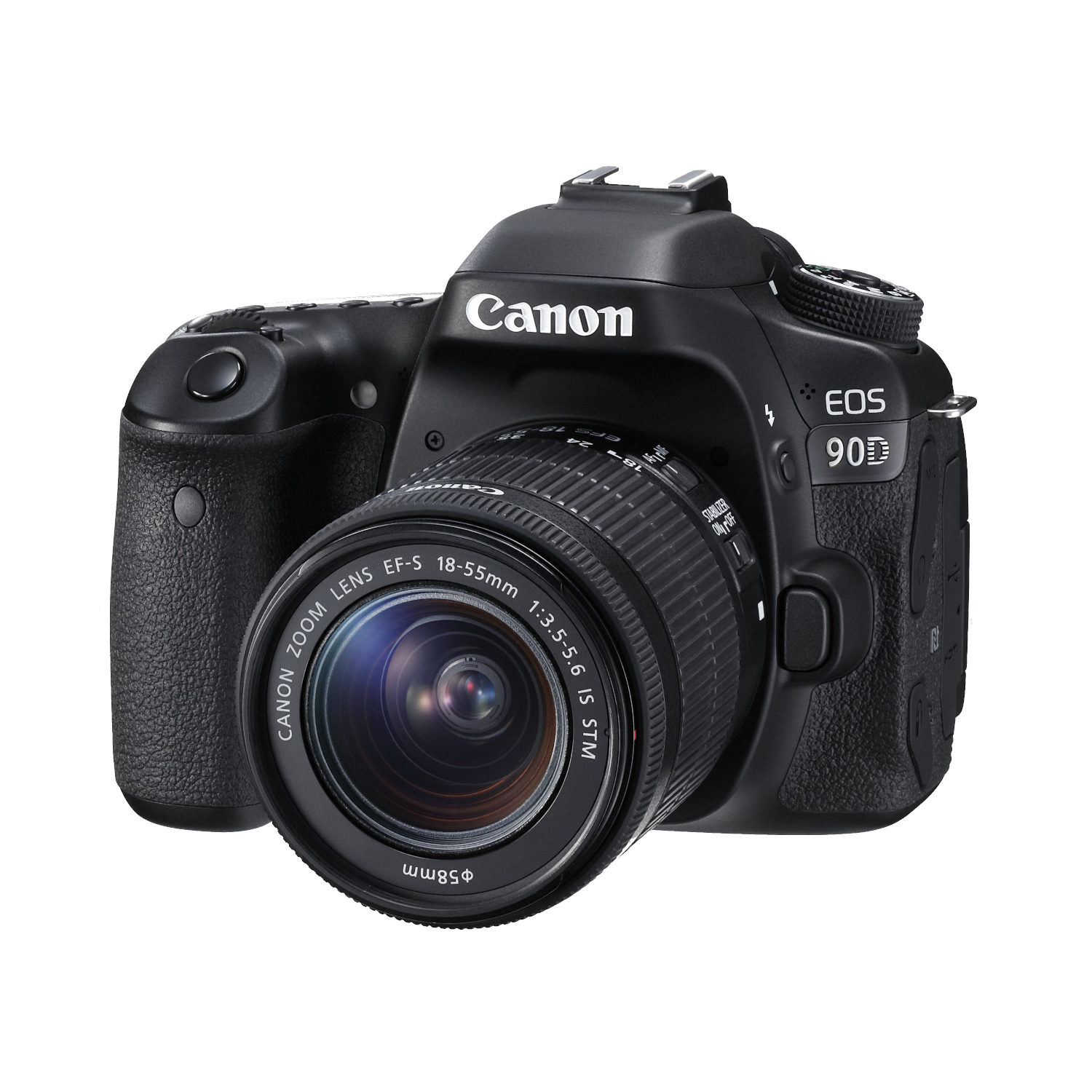Canon EOS 90D DSLR + 18-55mm IS STM