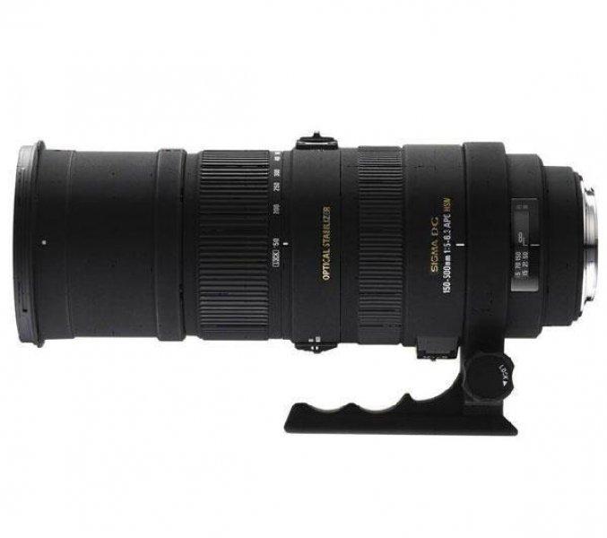 SIGMA Objectiva 150 - 500 mm F5-6,3 DG APO OS HSM