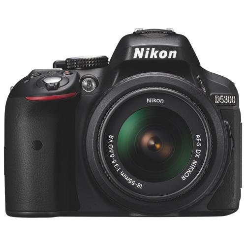 Nikon D5300 + AF-S DX 18-55mm G VR