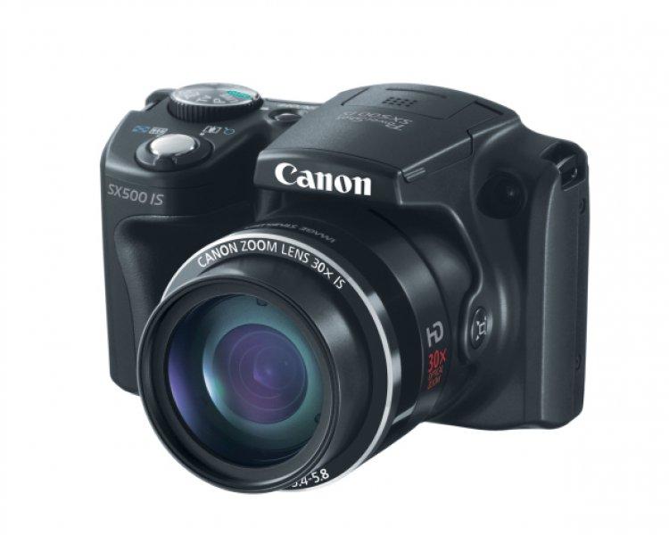 CANON POWERSHOT SX500 IS - PRETA
