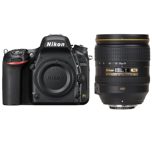 Nikon D750 Body + AF-S 24-120 ED VR