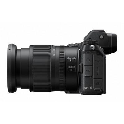 Nikon Z6 + 24-70mm + anel de adaptação FTZ AF