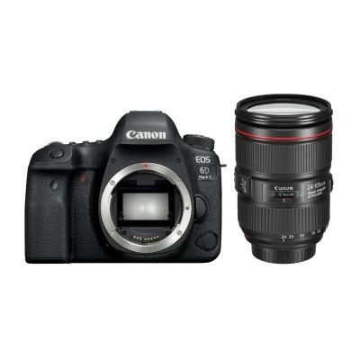 Canon EOS 6D Mark II DSLR + 24-105mm IS II USM