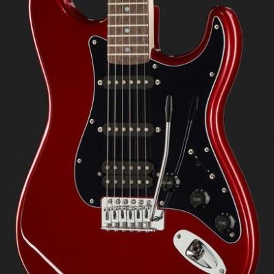 Fender SQ Affinity Strat Pack HSS CAR
