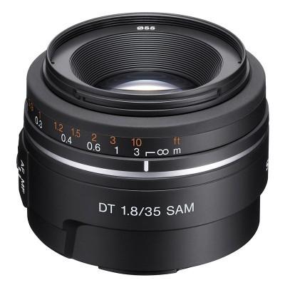 Sony 35mm f/1.8 DT SAM objectief (SAL35F18.AE)