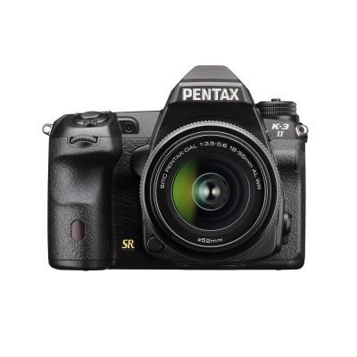 Pentax K-3 II DSLR PRETO + 18-55mm WR