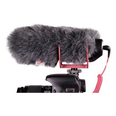 Red VideoMic Go microphone + Rycote Windjammer Special Kit