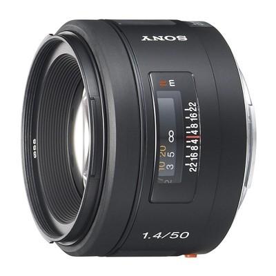 Sony 50mm f/1.4 objectief (SAL50F14.AE)