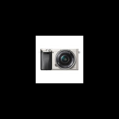 Sony Alpha A6000 ICL systeemcamera Zilver + 16-50mm OSS