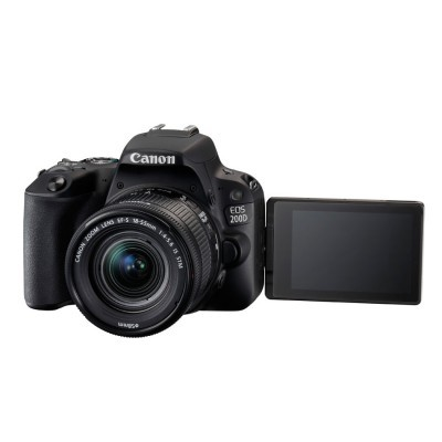 Canon EOS 200D DSLR + 18-55mm f/4.0-5.6 IS STM