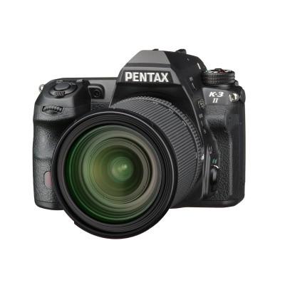 Pentax K-3 II DSLR Preto + 16-85mm WR