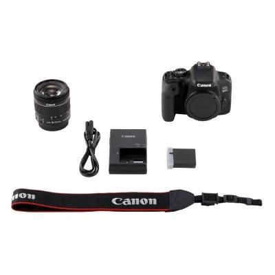Canon EOS 800D DSLR + 18-55mm f/4.0-5.6 IS STM