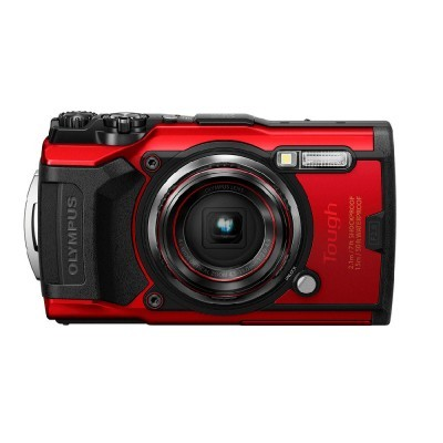 Olympus Tough TG-6 Vermelha