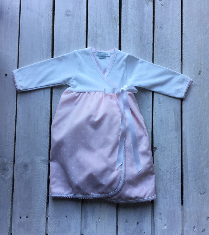 Cueiro saia rosa