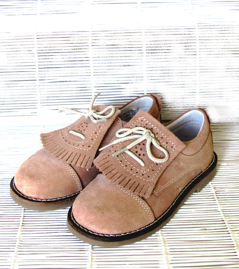 Sapato carneira franja