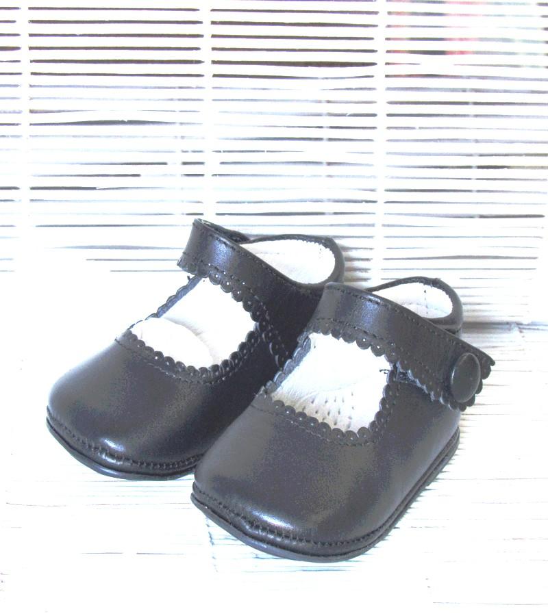 Sapato botão bebé