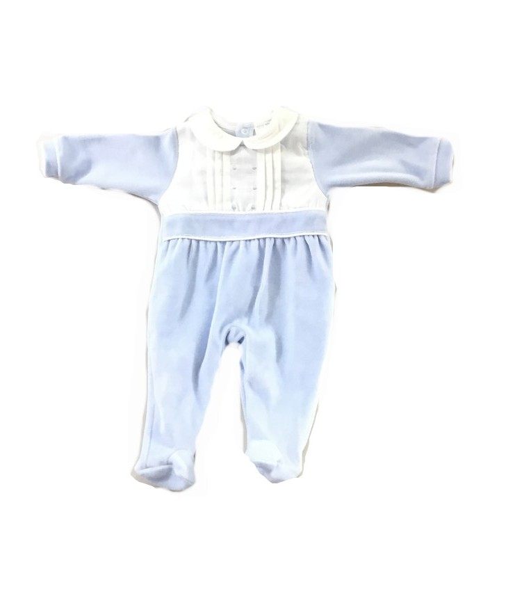 Babygrow azul barra
