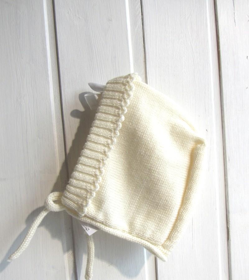 Touca lã beje