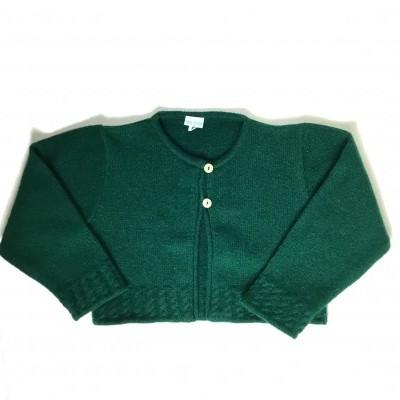 Casaco malha verde