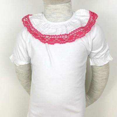 T-shirt folho coral