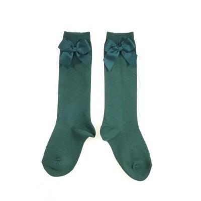 Meias laço - verde