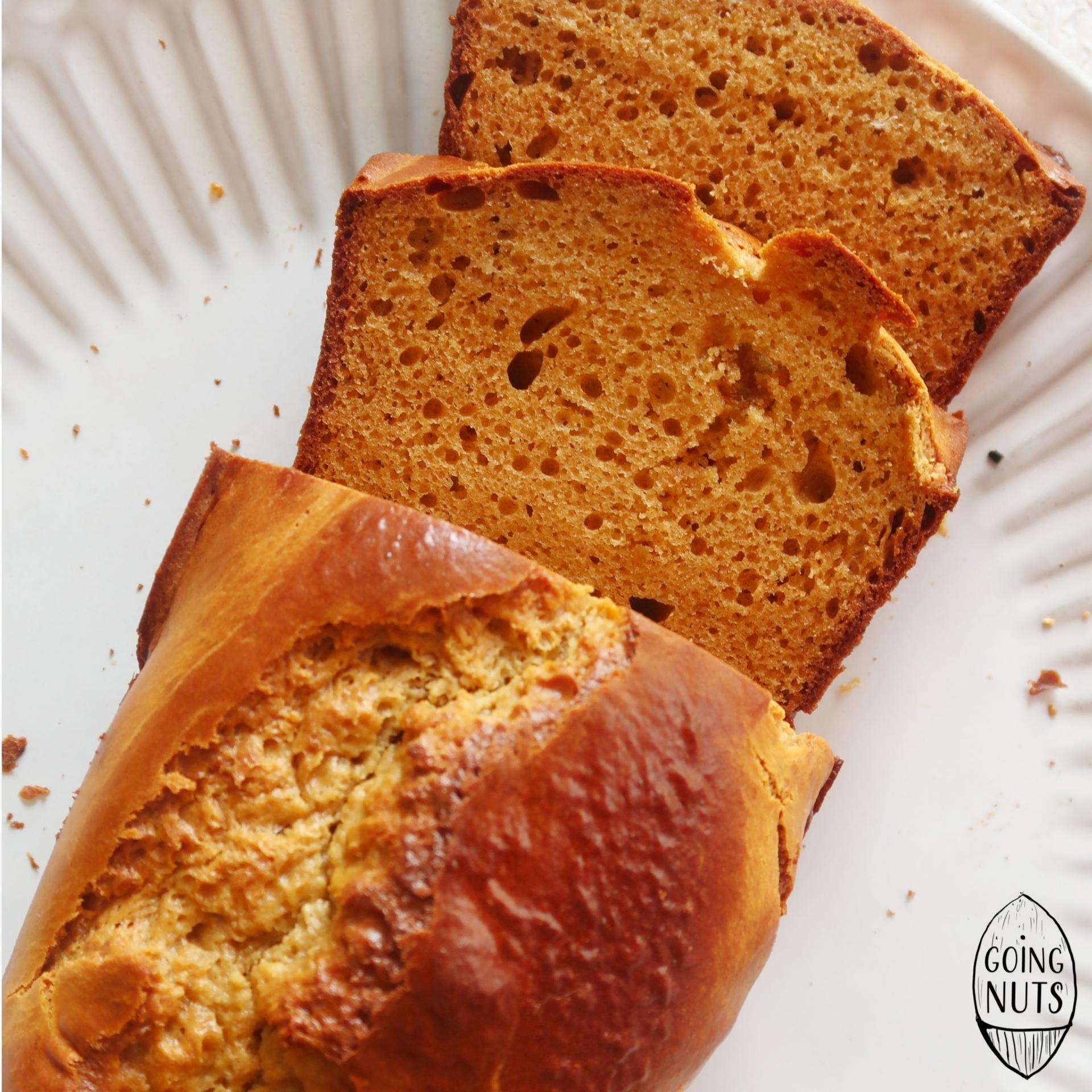 Pão de Manteiga de Amendoim