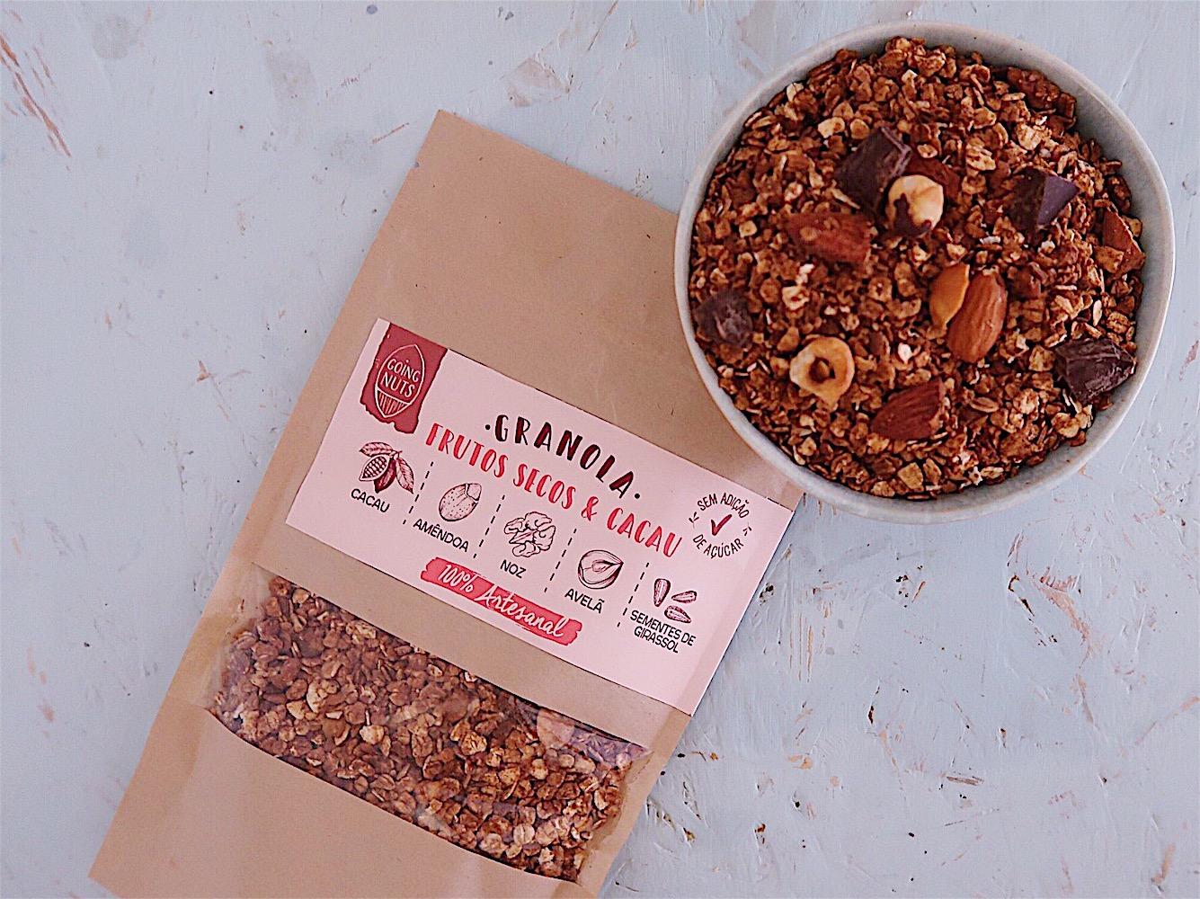 Granola Frutos Secos & Cacau | 250 Gr.