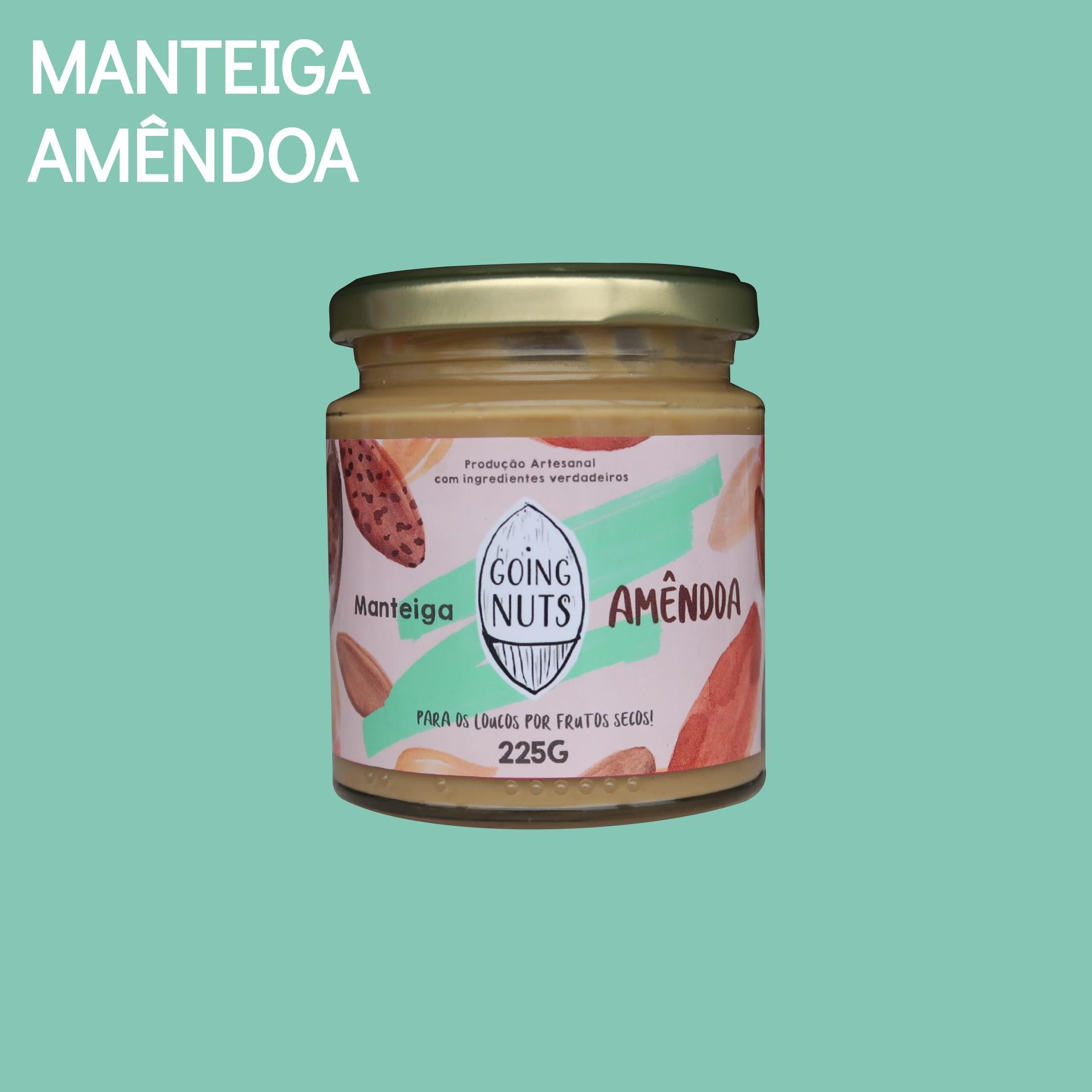Manteiga Amêndoa | 225G