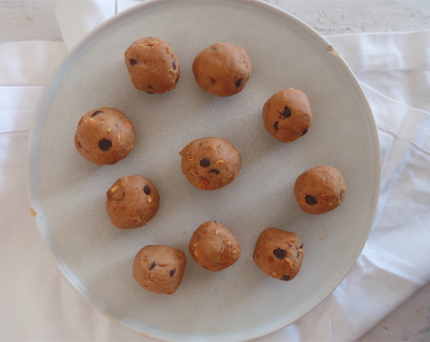 Bolinhas de cookie dough