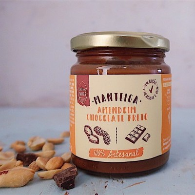 Manteiga Amendoim & Chocolate Preto | 225 Gr.