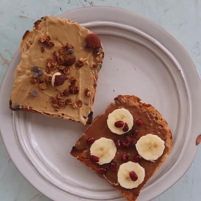 Torrada Manteiga de Amendoim Going Nuts