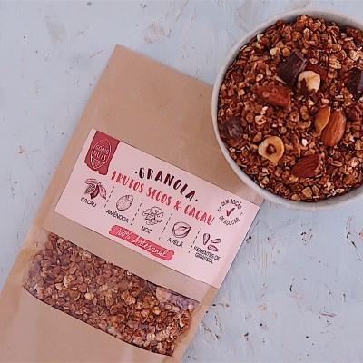 Granola Frutos Secos & Cacau | 500 Gr.