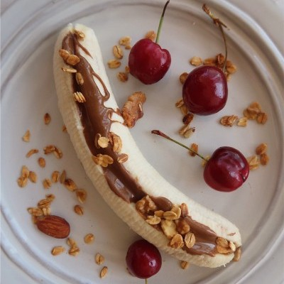 Banana Split Going Nuts