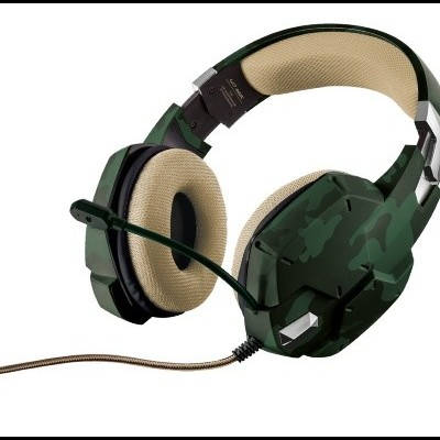 TRUST GXT 322C Gaming Headset - Green Camouflage - 20865