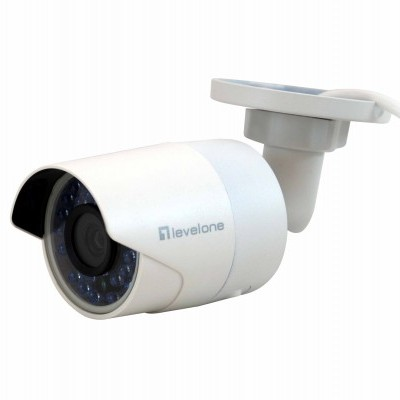 Camera LEVEL ONE Fixed Network, 2-Megapixel, 802.3af PoE, Outdoor, IR LEDs - FCS-5058