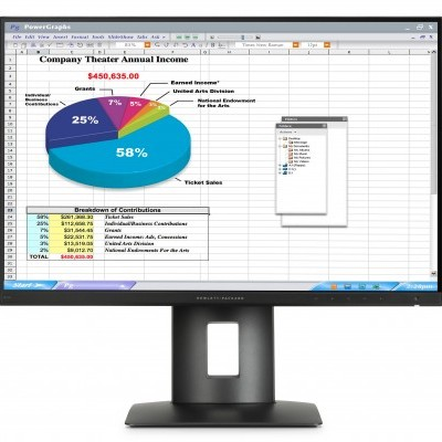 "Monitor HP Z Display Z24n 24"" FHD IPS LED s/Cabos - ECOMONHPZ24N"