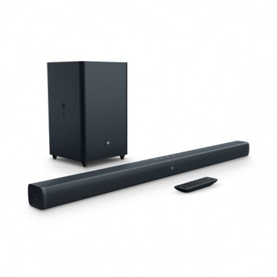Coluna JBL BAR 2.1 Bluetooth 300W SoundBar