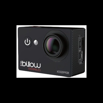 Action Cam BILLOW 4K Interpolada, WIFI, 170º c/ acessórios, Black - XS550PROB