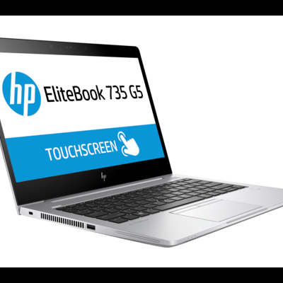 "NB HP EliteBook 735 G5 13.3"" FHD LED R7-2700U 8GB 256GB Win10 Pro 64 3Yr Wrty"""