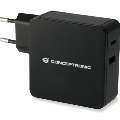 Carregador CONCEPTRONIC Port 60W USB PD - ALTHEA02B