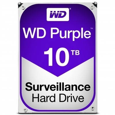 Disco 3.5 10TB WD Purple 256Mb SATA 6Gb/s - Video Vigilância
