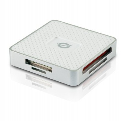 Leitor Cartoes CONCEPTRONIC All-In-One USB 3.0 Branco - CMULTIRWU3