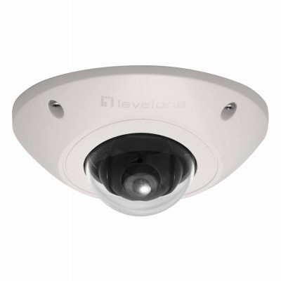 Camera LEVEL ONE Mini Fixed Dome Network, 2-Megapixel, 802.3af PoE, Outdoor, Vandalproof - FCS-3073