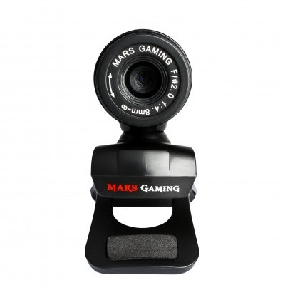 Webcam MARS GAMING, Noise Cancelling, USB - MW1