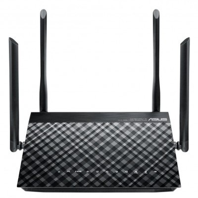 Router Asus ADSL2/2+ Dual-Band Wireless 300Mbps - DSL-AC55U