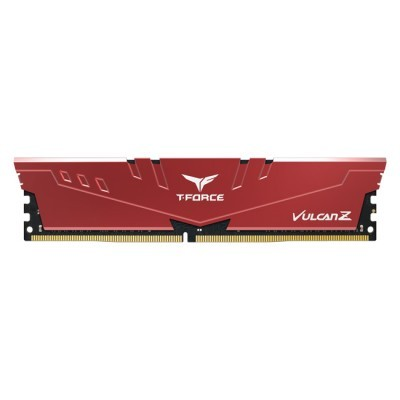 Dimm Team Group T-FORCE Vulcan Z 16GB DDR4 3200Mhz CL16  RED