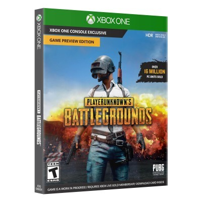 Game MICROSOFT Xbox One PLAYERUNKNOWNS BATTLEGROUND